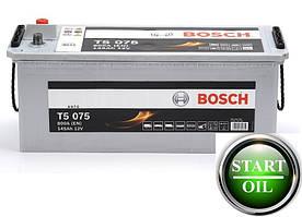 Аккумулятор BOSCH 145Ah 800A (T5 075) 0092T550750