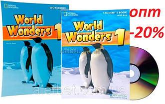 Английский язык / World Wonders. Student's+Workbook+CD, Учебник+Тетрадь (комплект), 1 / NGL