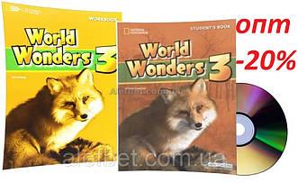 Английский язык / World Wonders. Student's+Workbook+CD, Учебник+Тетрадь (комплект), 3 / NGL