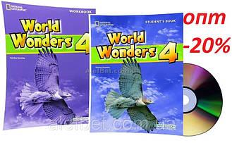 Английский язык / World Wonders. Student's+Workbook+CD, Учебник+Тетрадь (комплект), 4 / NGL