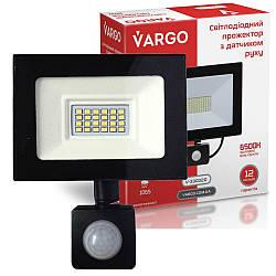 """20W 6500K """"Vargo"""" светодиодный прожектор с датчиком движения"""