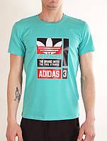 Підліткова футболка ADIDAS для хлопчика 9-16 років,колір уточнюйте при замовленні, фото 1