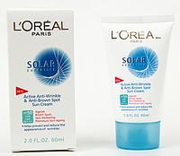 Солнцезащитный крем для лица и декольте L'OREAL SOLAR EXPERTISE Anti-Rides & Anti-Taches SPF/UVB 50 MUS66 /5-1