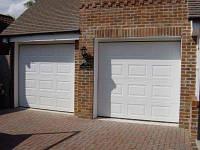 Секционные гаражные ворота Alutech (Филёнка), фото 1