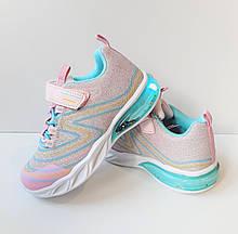 Кросівки з підсвічуванням для дівчинки Bi&Ki Рожевий р. 31 (20см)