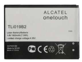 Аккумулятор (Батарея) для Alcatel C7 5022D TLi019B2 (1900 mAh) Оригинал