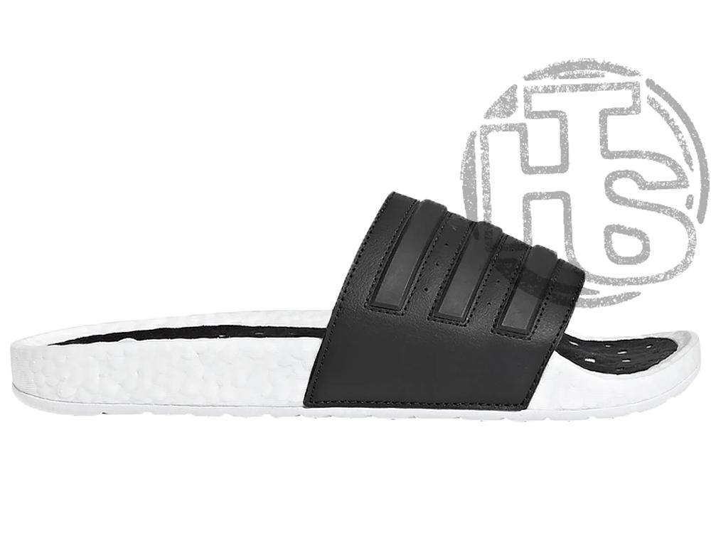 Мужские шлепанцы Adidas Adilette Boost Cloud White Core Black EG1910