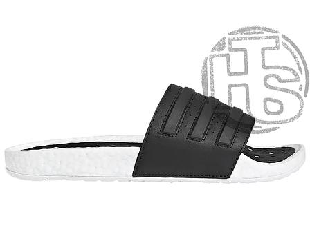 Мужские шлепанцы Adidas Adilette Boost Cloud White Core Black EG1910, фото 2
