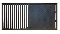 Чугунная решетка для гриля 290x590 мм