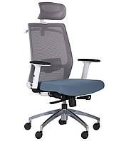 Кресло Install White, Alum, Grey/Skyline БЕСПЛАТНАЯ ДОСТАВКА !