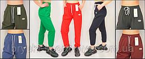 Брюки спортивные женские под манжет  яркие, легкие, летние – плащевка  Kenalin (ОПТ - 14 единиц)