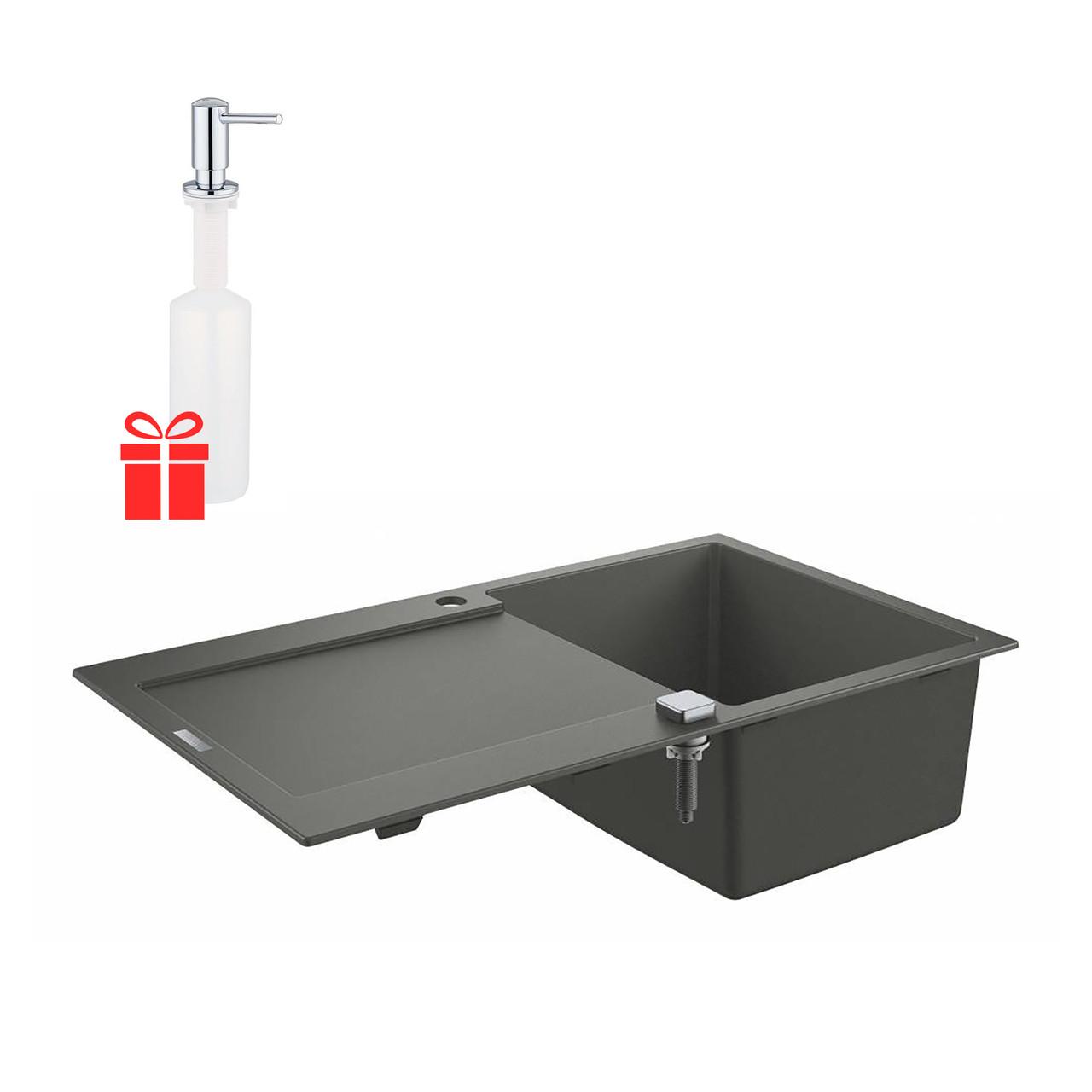Набір Grohe мийка кухонна K500 31644AT0 + дозатор для миючого засобу Contemporary 40536000