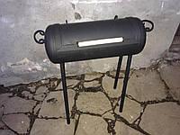Мангал ручной работы из газового баллона черный (TA0005)