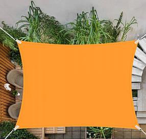 Тент-парус теневой для дома, сада и туризма Springos 4 x 3 м SN1035