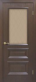 Двері Оміс Сан Марко 1.2 скло бронза Каштан, 900