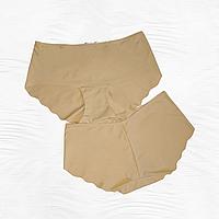 Безшовні трусики жіночі Acousma тілесні Розміри M L XL