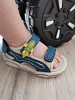 Боссоножки сандали 23-25 р (16-17 см) на мальчика детские