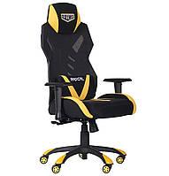 Кресло VR Racer Radical Wrex черный/желтый БЕСПЛАТНАЯ ДОСТАВКА !