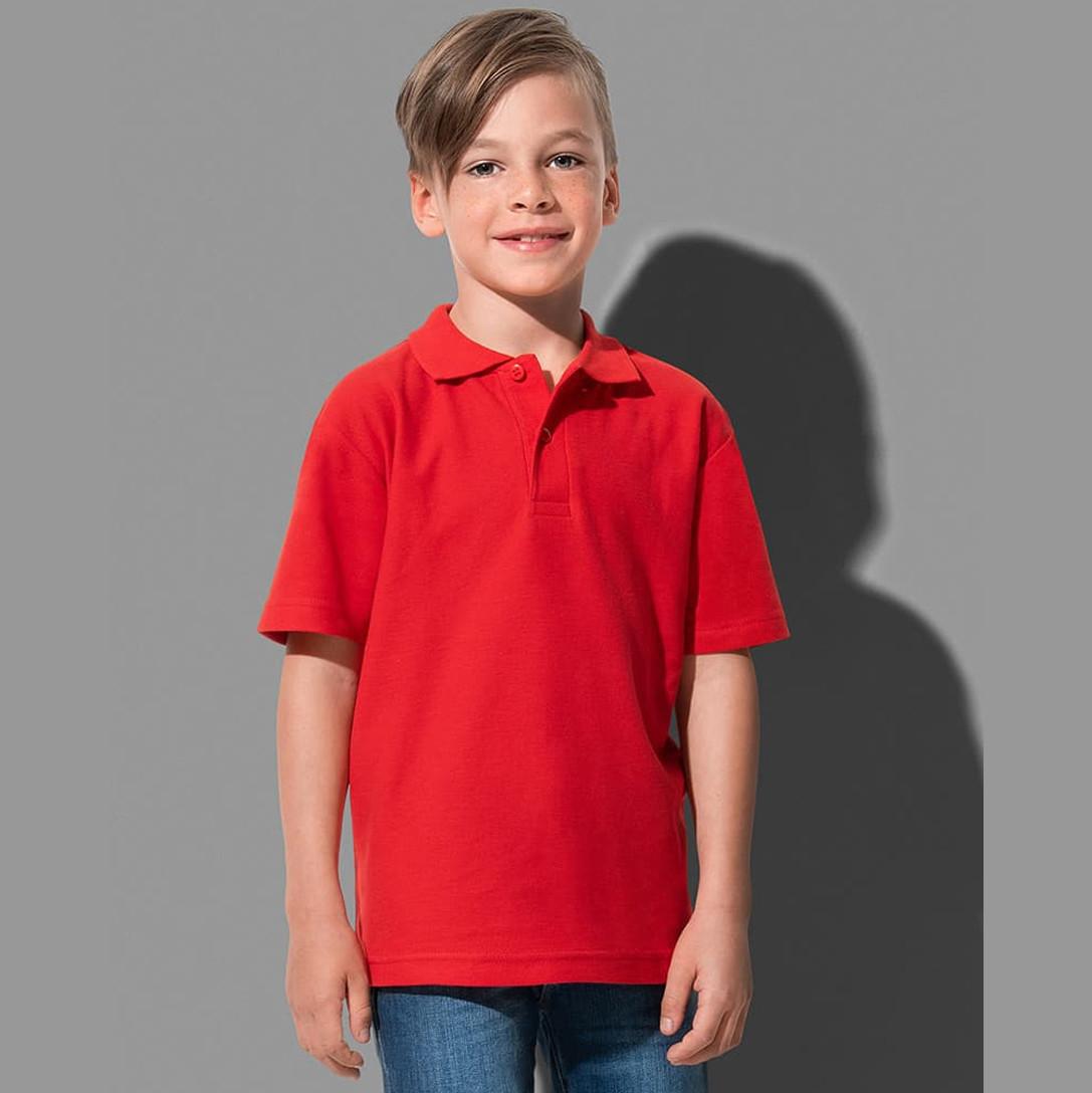 Футболки-поло Stedman Polo Junior для хлопчика