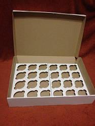 Коробки для кексів, мафінів, капкейків 24 шт 475х250х80