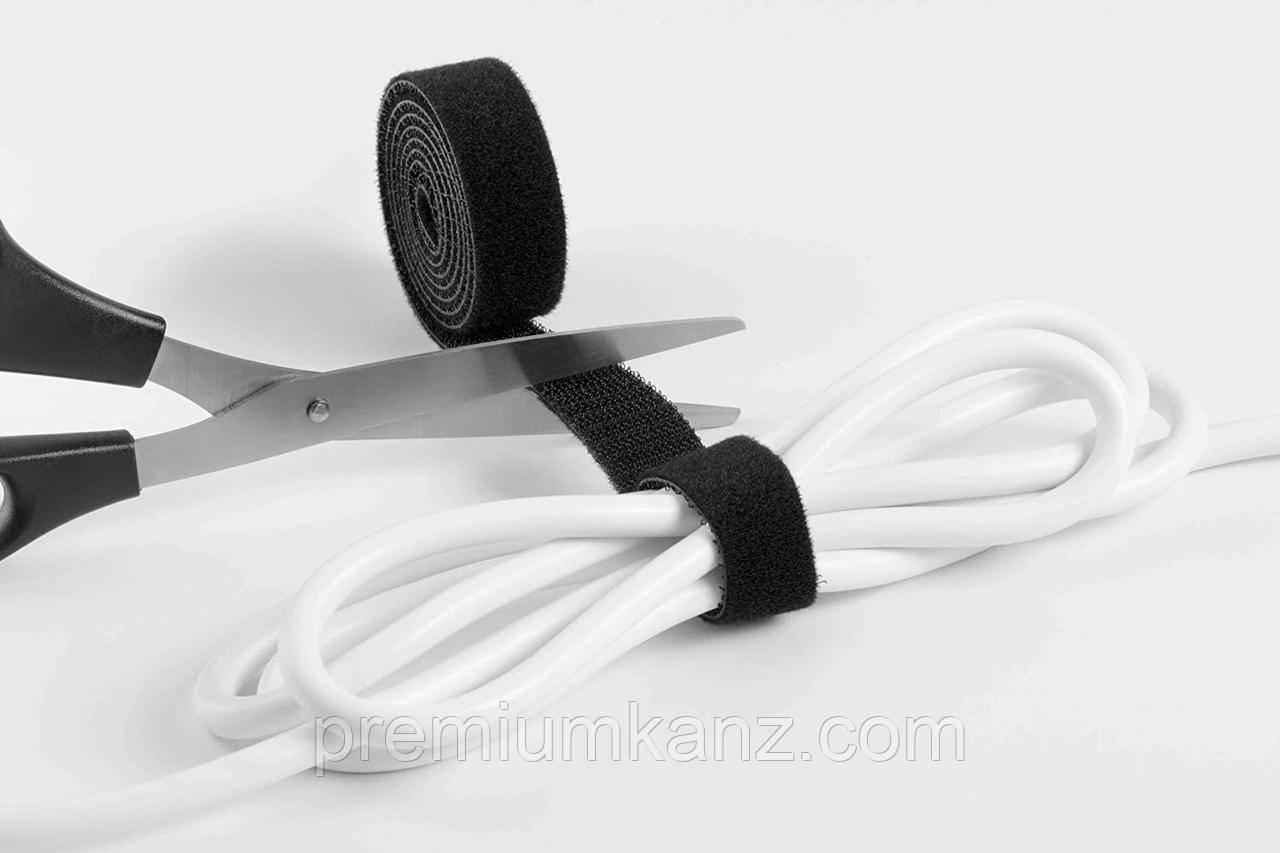 Стрічка на липучці для фіксації проводів 100 х 1 см, CAVOLINE DURABLE