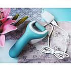 ОПТ Водонепроницаемая электрическая роликовая пилка Comfort smooth USB для огрубевшей кожи ног, фото 7