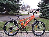 """Велосипед детский подростковый горный Ardis Sus 20"""", оранжевый, бирюзовый"""