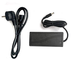 Блок живлення 12V 5A (5,5 * 2,1)  + Мережевий кабель, фото 2