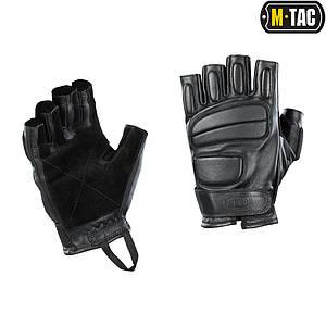 M-Tac рукавички безпалі шкіряні Assault Tactical Mk.1 Black