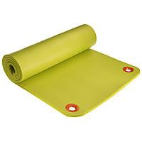 Коврик для фитнеса и йоги профессиональный NBR 12,5мм MODERN FI-2578 (1,80м x 0,61м x 12,5мм, салатовый)