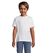 Футболки Sols Regent Kids (детские) белые