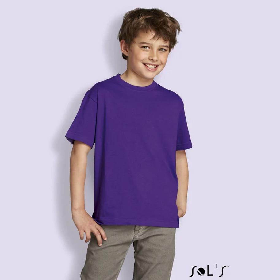 Футболки Sols Regent Kids (дитячі) кольорові