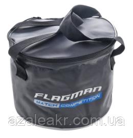 Мягкое ведро c крышкой Flagman Bucket With Cover