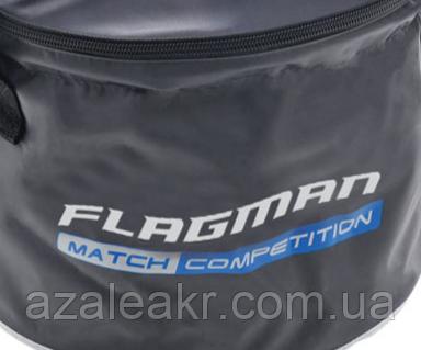 Мягкое ведро c крышкой Flagman Bucket With Cover, фото 2