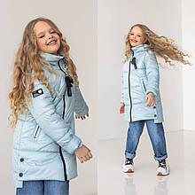 Весенняя  куртка на девочку Милена, р-ры 116-152
