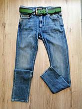 Джинсы мужские 29(р) сине-зеленые 3229-2735 Philipp Plein Турция Весна-D