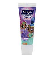 Orajel Зубная паста с фтором от кариеса Shimmer and Shine, райские ягоды, 119 г