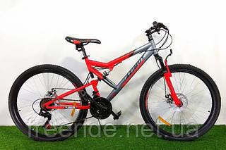 Двопідвісний велосипед Azimut Scorpion 26 D (17)