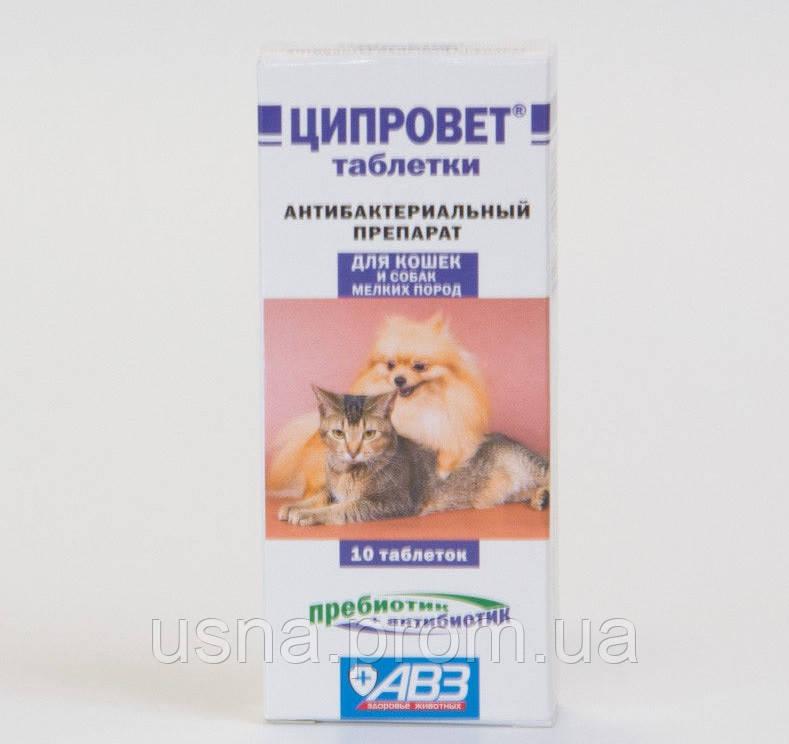ципровет для кошек инструкция по применению