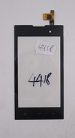 Оригинальный тачскрин / сенсор (сенсорное стекло) для Fly IQ4418 (черный цвет)