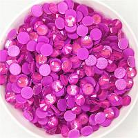 Стрази Neon Dark Purple AB ss16 холодної фіксації. Ціна за 144 шт, фото 1