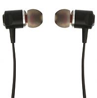 Вакуумные проводные наушники со стерео звуком микрофоном шумоподавляемые Inkax H31 черного цвета для телефона.