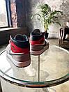 """Кросівки чоловічі Air Jordan 1 High Retro """"Light Smoke Grey"""", сіро-червоні, фото 10"""
