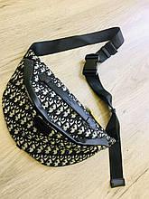 Сумка жіноча 1(р) чорна 4019 Dior КНР D