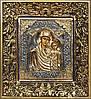 Икона Казанской Божьей Матери (5 вариант) 19,7 см * 17,8 см