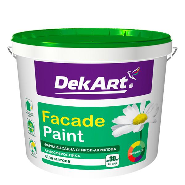 Краска фасадная акриловая DekArt 4,0 л