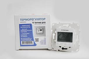 Автоматичний терморегулятор Terneo pro з монтажною коробкою, фото 2