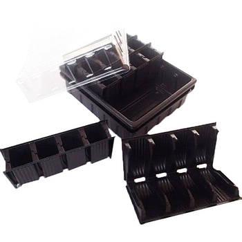 Парничок-касета для розсади 20 осередків трансформер
