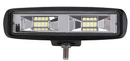 Фара LED прямоугольная 16W (16 диодов)