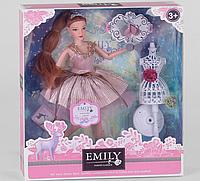 """Детская кукла """"Emily"""" шарнирная с аксессуарами Принцесса QJ 087 В"""